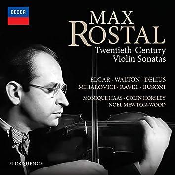 20th-Century Violin Sonatas