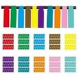 Etiquetas De Identificación De Cables Etiquetado De Cables Autoadhesivo Etiquetas Autoadhesivas Para Cables Marcado De Cables Impermeable Pegatinas De Cable Duraderas, Para Impresora Láser, 10 Colores