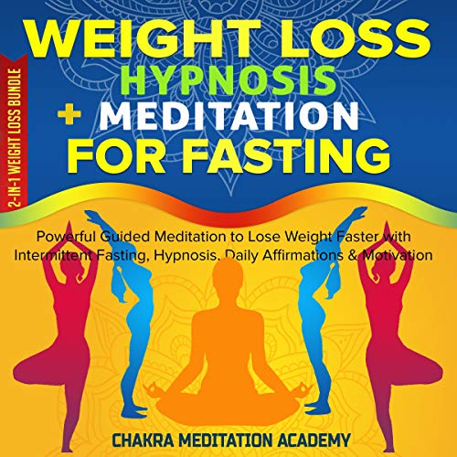 Weight Loss Hypnosis + Meditation for Fasting: 2-in-1 Weight Loss Bundle cover art