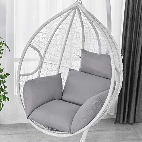 Jintaihua - Cojín balancín 6D para sofá, sillón, silla, con reposacabezas grueso, cojín para silla colgante, cojín individual