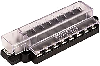Blue Sea 5046 Atc Compact Fuse Block With Cover, 8 Circuit 19-143