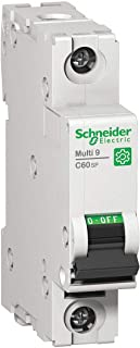 Schneider Electric Miniature Circuit Breaker, 16 Amps, Number of Poles: 1, 240VAC AC Voltage Rating
