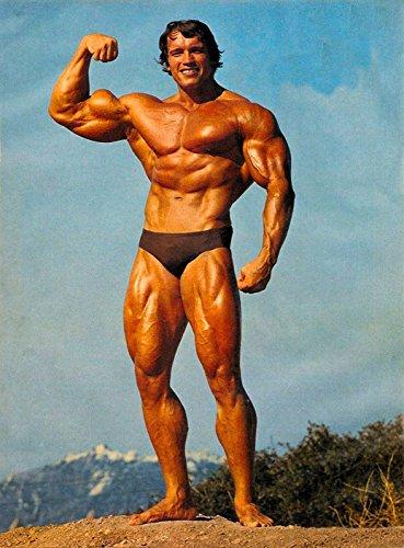 Prague Courtney 24X36Inch Arnold Schwarzenegger Bodybuilder Olympia Universe Conquer Classical Sport Poster Home Deco