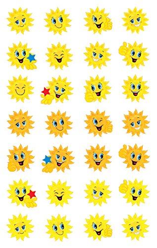AVERY Zweckform 53133 Papier Sticker Sonne 56 Aufkleber