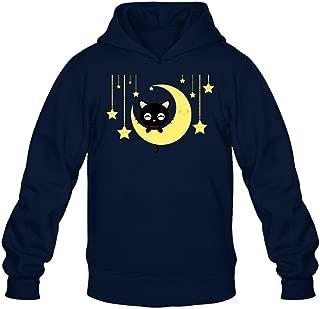 Kittyer Men's Chococat Long Sleeve Sweatshirts Hoodie