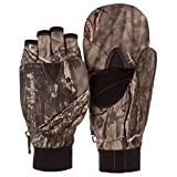 Huntworth Ladies Heavy Weight Classic Hunting Pop-Top Glove, Hidden, Large