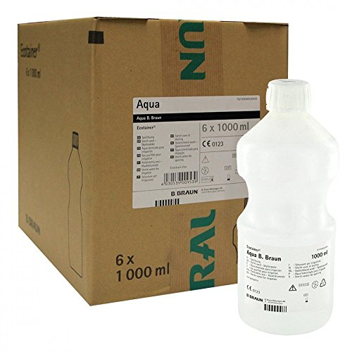 AQUA B.Braun Spüllösung Kunststoff F 6X1000 ml