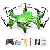 MINI Drone Con Cámara Helicóptero RC Hexacóptero 2.4G 6 Ejes 3D Flip Wifi Transmisión En Tiempo...