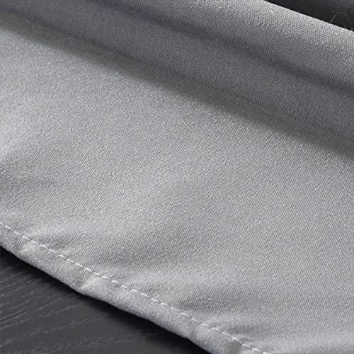 HEIFEN Mantel Impermeable Mezcla De Algodón Y Lino 60 × 90 CM Mantel Rectangular De Poliéster Esta Mesa Blanca De Cocina