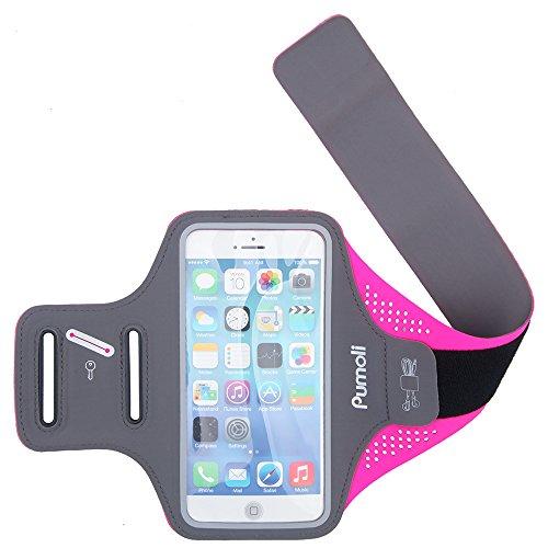 Brazalete para iPhone 7 Plus para Correr, para teléfono móvil, Accesorios de hasta 5,5 Pulgadas, Correa de Correr, Gimnasio, Correr, Caminar, Ciclismo, Senderismo, Entrenamiento, Ejercicio Deportivo.