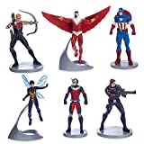 Marvel Avengers Captain America Figurine Set