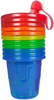 The First Years Take & Toss 7oz Spill-Proof 6 Sippy Cup set