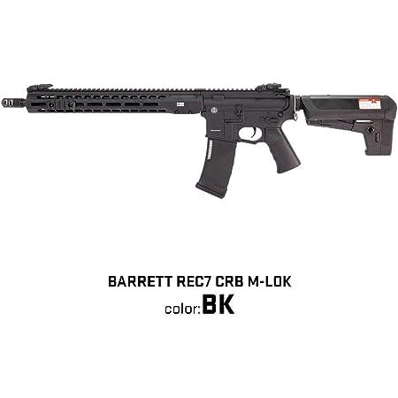 ライラクス 【KRYTAC】【BARRETT REC7 CRB M-LOK】【BK】 ブラック