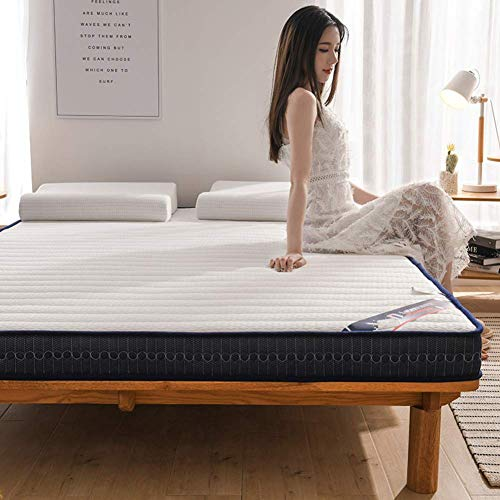 JY&WIN Twin Futon Mattress,10cm Latex Foam Mattress,Breathable Comfortable Bed Mattress For Sleep Supportive Pressure Relief-white Twin