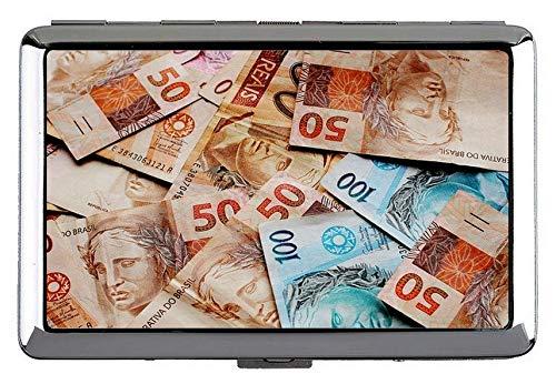Niedlicher Edelstahl-Ausweis oder Zigarettenetui (King Size), Geld-Stimmzettel-Kapital halten Visitenkarten in einwandfreiem Zustand