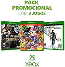 Box Games - Metal Gear Survive + Super Bomberman R + Quantum Break - Xbox One