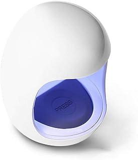 ZYCX123 La Clara de Huevo Forma de uñas UV LED de la lámpara 6W Una uña del Dedo del Clavo del Polaco del Gel de Secado de la máquina Inteligente Que Cura la Secadora eléctrica Parte de manicura