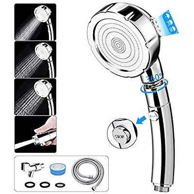 Handheld Shower Head with Hose