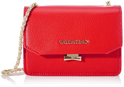 Mario Valentino Valentino by Damen Sfinge Umhängetasche, Rot (Rosso), 8x17.5x27 cm