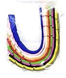 Fibbie Estensione Mascherine - Cinghia Prolunga - 10 Pezzi - Fascetta Estensione per elastici - Ganci Regolabili - Rilassa Orecchie - Adatto a tutte le Mascherine - 100% Silicone
