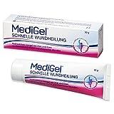 MediGel Schnelle Wundheilung – Hydroaktives Lipogel mit Zink & Eisen für alle Wunden im Alltag – Moderne feuchte Wundheilung – 50