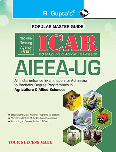 NTA-ICAR: AIEEA-UG Entrance Exam Guide