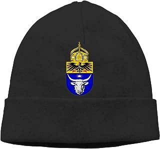 German West African Friendship Emblem Beanies Caps Unisex Soft Cotton Hedging Cap