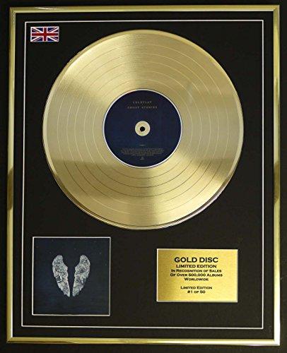 Everythingcollectible COLDPLAY/Goldene Schallplatte Record Limitierte Edition/GHOST STORIES