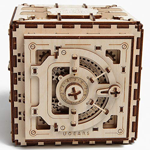 Ugears Mechanical 3D Safe, Valentine