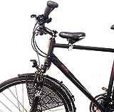 Fahrrad Kindersitz für vorn Komplett Set, Größe:Herren Gr.2 Rahmen Ø 35-50mm