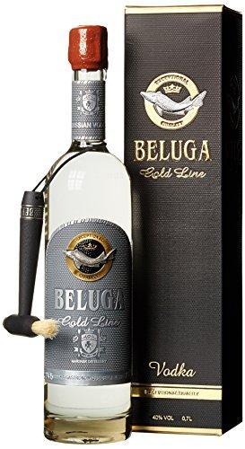 Beluga Gold Line Noble Russian Wodka mit Geschenkverpackung (1 x 0.7 l)