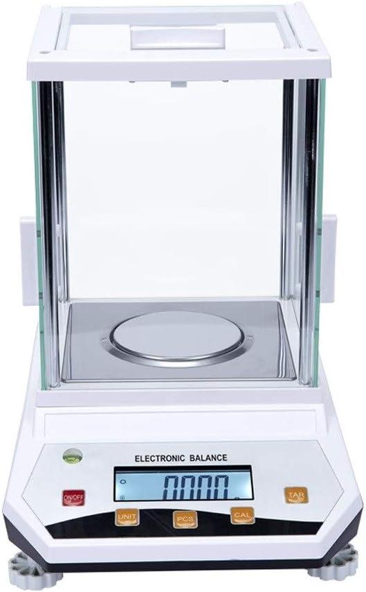 LJP Balanza Científica Analítica de Laboratorio de Gama Grande Báscula Electrónica Digital Inteligente de Alta Precisión de 0.001g Cocina Báscula Escala de la joyería (Size : 500g*0.001g)