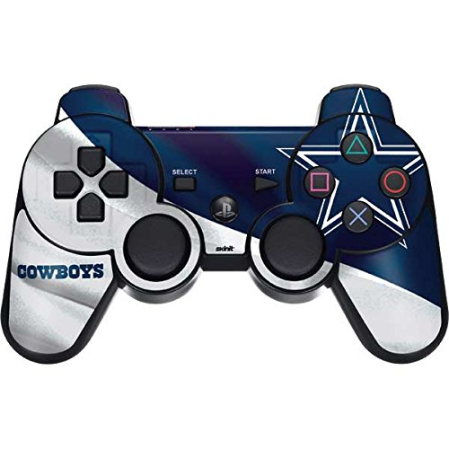 Skinit Decal Gaming Skin for PS3 Dual Shock Wireless Controller - Officially Licensed NFL Dallas Cowboys Design