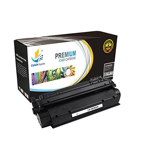 Catch Supplies Cartucho de tóner negro Q2624X de alto rendimiento para la serie HP 24X | Rendimiento de 3.500 | compatible con los modelos de impresora HP LaserJet 1150.