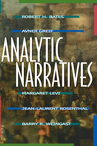 Analytic Narratives (Princeton Paperbacks)