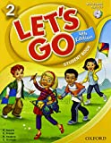 Lets Go 4th Edition Level 2 Student Book with Audio CD Pack (Let 039 s Go)