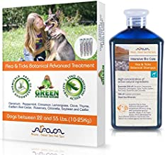 Arava Natural Flea & Tick Prevention for Dogs & Cats - 4-Doses - 100% Safe Flea & Tick Control - Repels Pests with Natural Oils - Safe on Skin and Coats - Enhanced Defense & Prevention (4 Variations)