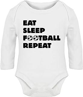 0-18 Months Coco Rascal/® Baby Boy Girl Cuddle Grandma Manchester Footie Man United MUFC Football White Bodysuit Grow Vest