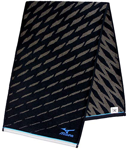 林(Hayashi)スポーツタオルブラック約34×110cmミズノmizunoI8073