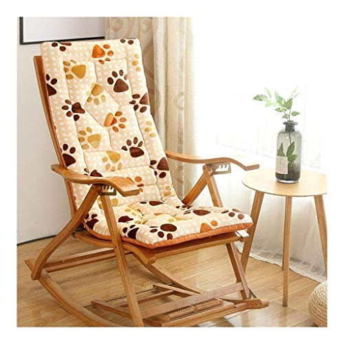 N /A Coussin de chaise longue portable pour chaise longue de jardin inclinable avec sangles élastiques – Coussin uniquement (couleur : 3), 1