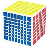 BAIYI 8X8x8 Cubo Cubo 8 Capas 8X8 Velocidad Rompecabezas En Forma De Cubo De Distorsión Juguetes Educativos Juegos Educativos para Niños Juguetes,A