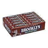 Brooklyn Cinnamon Gomme da Masticare, Gusto Cannella, Confezione da 20 Stick da 9 Lastrine Monopezzi