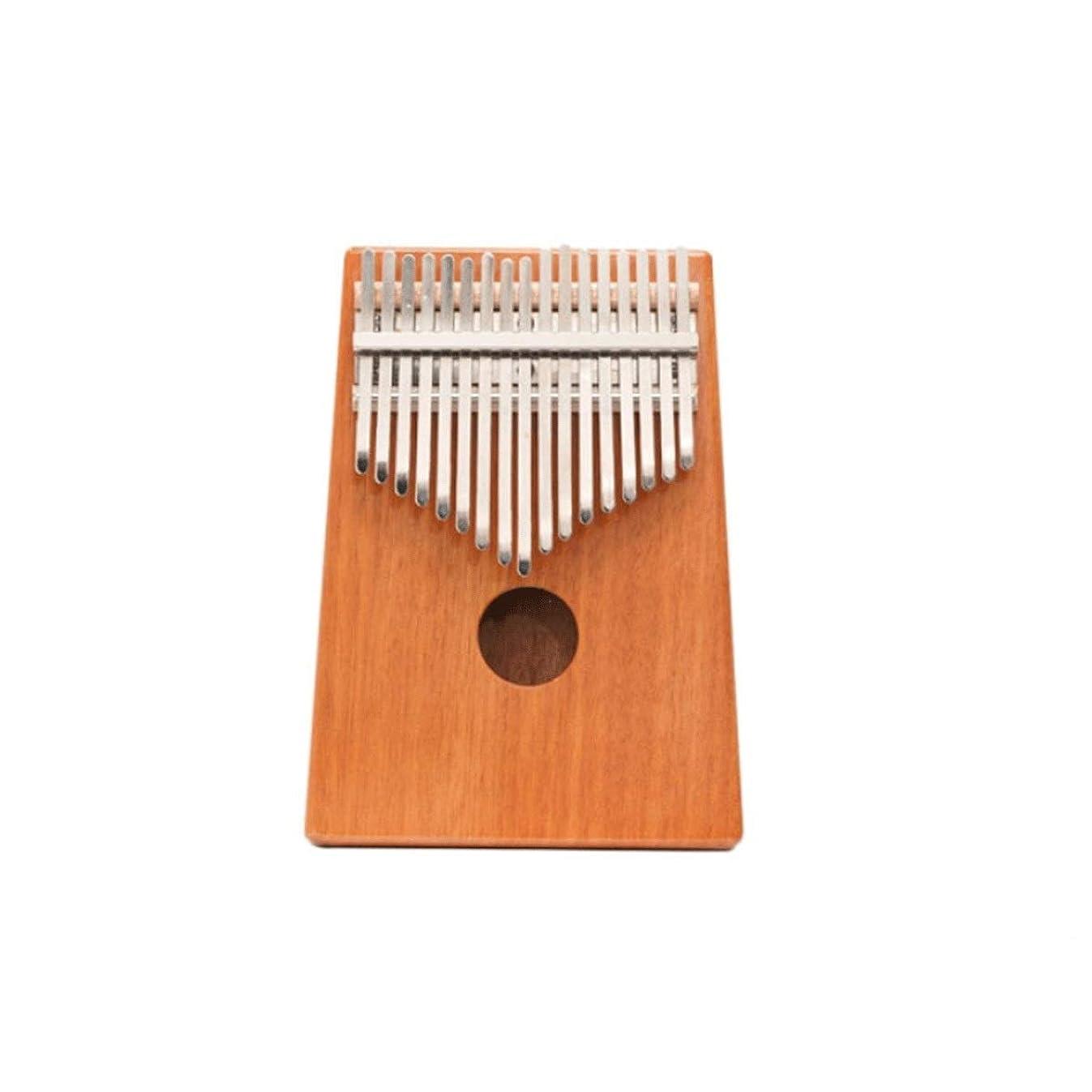 考慮献身ゲストSHENGSHIHUIZHONG Kalimba、17トーン親指ピアノ、ポータブル親指ピアノ、子供/大人/初心者/専門家が普遍的な携帯用楽器を学ぶのに適している、(3色利用可能) (Color : A)