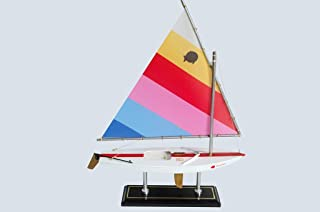 LK Wooden MaiTai Sunfish Model Sailboat Decoration 16