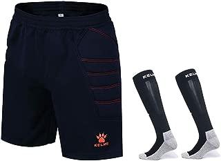 KELME Goalkeeper Padded Shorts and Socks Bundle