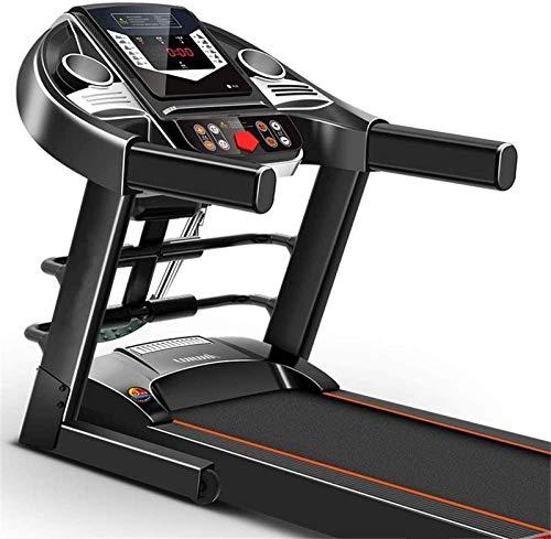 Cinta de correr eléctrica inteligente, pantalla LCD de velocidad ajustable. Utilizado para plegadoras verticales. La superficie para correr puede reproducir música en el gimnasio de la oficina.