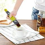 KEKEYANG Bilance da Cucina Portatile Strumenti di Cottura Regolabili per cucchiai di Cottura Regolabili per Il Sale caffè tè in Polvere Gadget da Cucina .Digitale