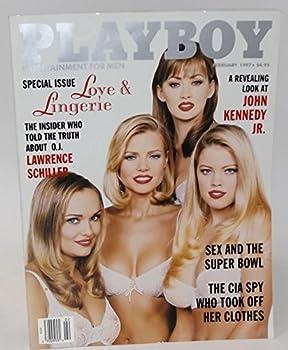 Playboy Magazine - February 1997 - Love & Lingerie
