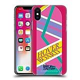 Head Case Designs Licenza Ufficiale Back to The Future Hoverboard 2 I Arte Composta Cover Dura per Parte Posteriore Compatibile con Apple iPhone X/iPhone XS
