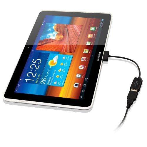 Kanaan Cavo-Adattatore Otg Usb Con Modalità Host Per Samsung Galaxy Tab, Cavo Usb Femmina Per: Galaxy Tab 7 Plus 7.7 8.9 10.1 10.1N Galaxy Tab 2 10.1 P5100 P5110, Galaxy Tab 2 7.0 P3100